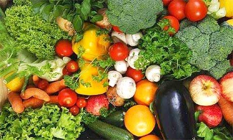 veganer Käse und frisches Gemüse passt perfekt